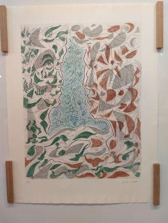リトグラフ Masson - Hommage a Picasso
