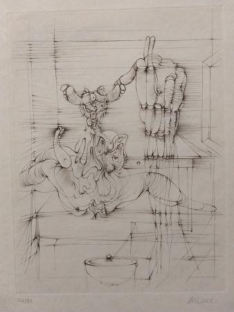リトグラフ Bellmer - Hommage a Picasso