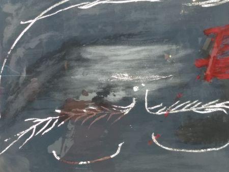 リトグラフ Tapies - Hommage a Picasso