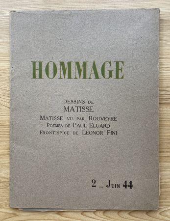 写真 Matisse - Hommage, Dessins de Matisse (