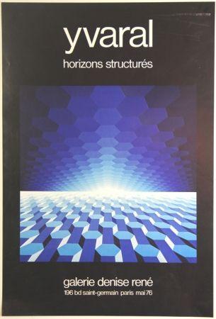 オフセット Yvaral - Horizon Structurés Galerie Denise René