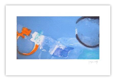 彫版 Capa - Horizontal bleu