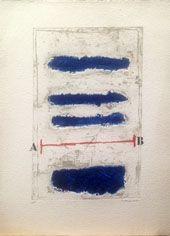 カーボランダム Coignard - Horizontales bleues