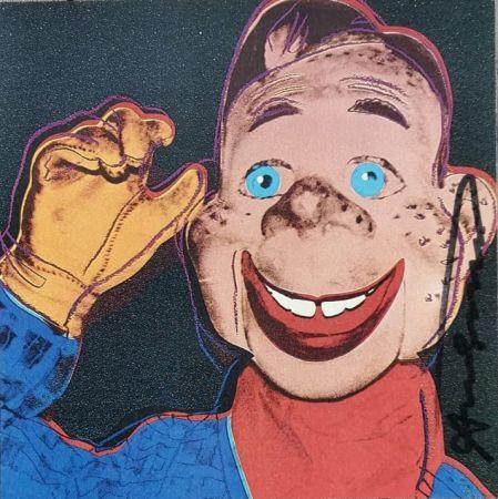 シルクスクリーン Warhol - Howdy Doody