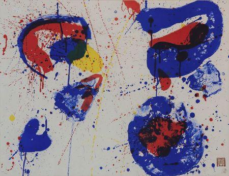 リトグラフ Francis - Hurrah for the Red, White and Blue (SF-17)