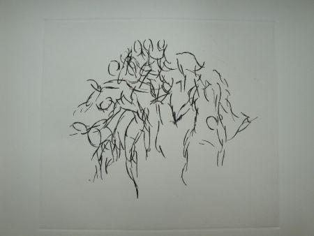 彫版 Arp - I, RUE GABRIELLE.