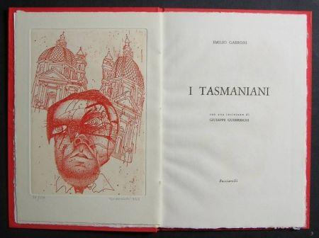 挿絵入り本 Guerreschi - I Tasmaniani