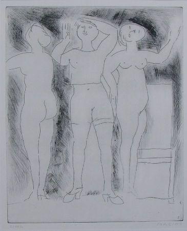 エッチング Marini - Idea della verginità