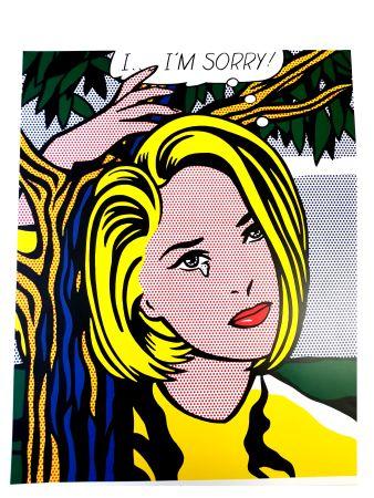 リトグラフ Lichtenstein - I...I'm sorry