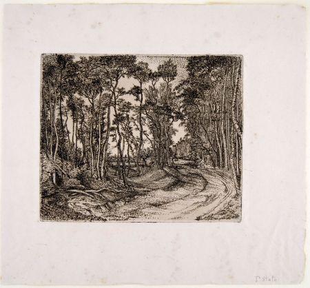 彫版 Bozzetti - IL BOSCO CHE GUARDA VERSO L'ESTERNO (The forest that looks to the outside)