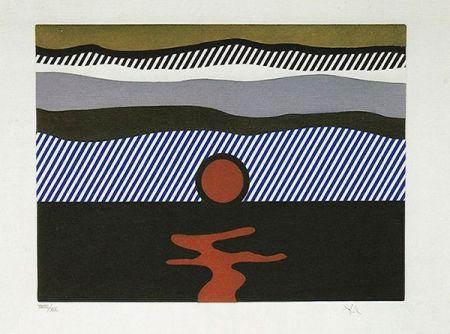 エッチングと アクチアント Lichtenstein - Illustration For