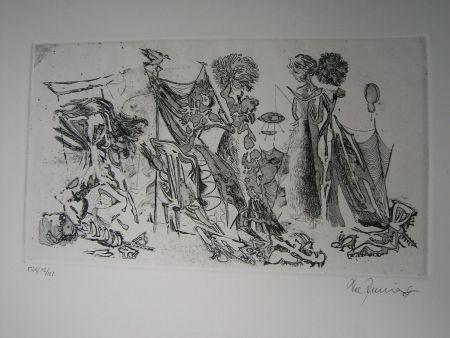 エッチングと アクチアント Zimmermann - Im Atelier des...  II