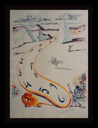 彫版 Dali - Imaginations & Objects ofThe Future Melting Space Time