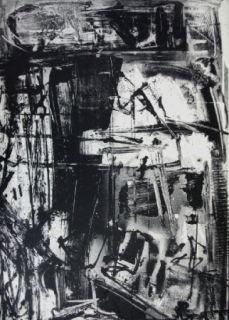 リトグラフ Vedova - Immanente 3