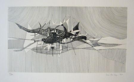 彫版 Berge - Impression marine
