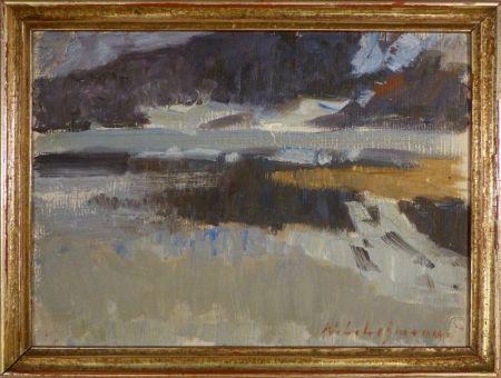 技術的なありません Lehmann - Impressionistische Landschaftsstudie