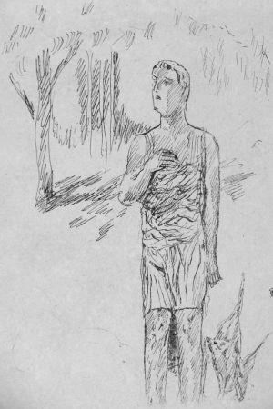 リトグラフ Bonnard - In attesa di Santa Monica
