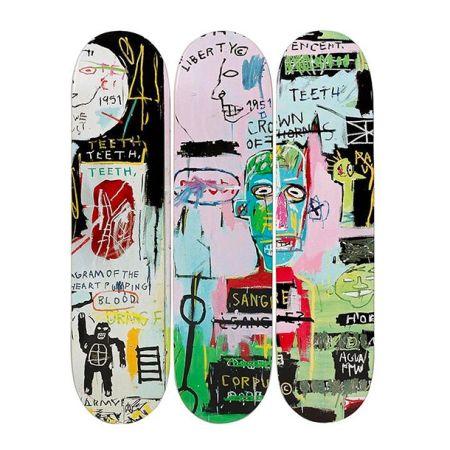 リトグラフ Basquiat - In Italian