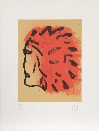 リトグラフ Oldenburg - Indian Head from Peace Portfolio