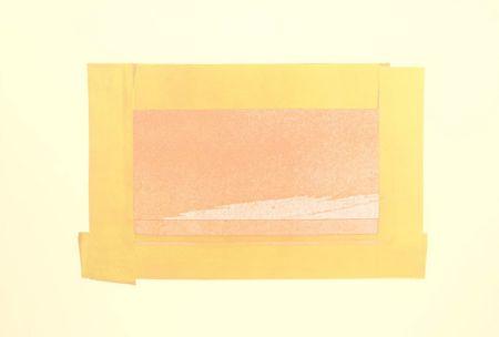 シルクスクリーン Hodgkin - Indian Views – Plate H