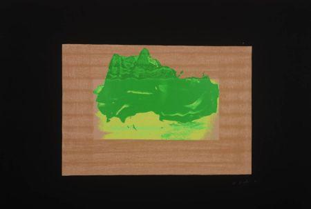 シルクスクリーン Hodgkin - Indian Views Suite – Plate D
