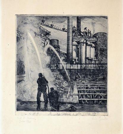エッチング Balsamo Stella - Industrial theme