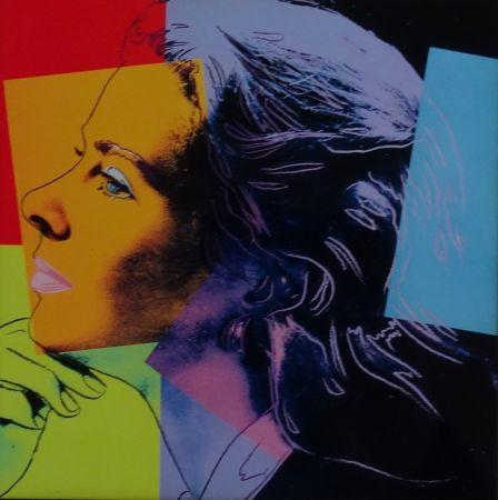 シルクスクリーン Warhol - Ingrid Bergman