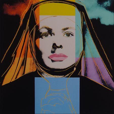 シルクスクリーン Warhol - Ingrid Bergman - The bells of St. Mary´s
