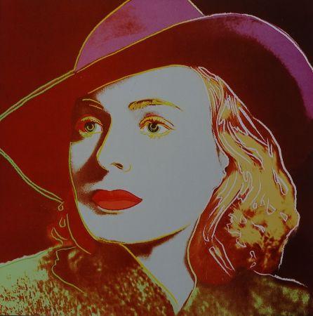シルクスクリーン Warhol - Ingrid Bergman Casablanca