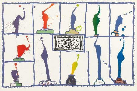 リトグラフ Alechinsky - Ink