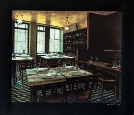 シルクスクリーン Renoux - Interior Van Gogh