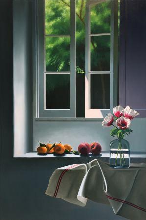 技術的なありません Cohen - Interior with Anemones and Fruit