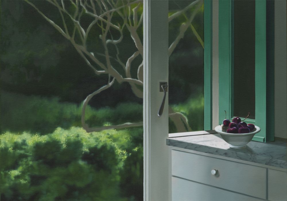 技術的なありません Cohen - Interior with Bowl of Cherries