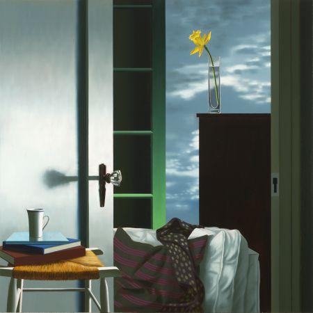 技術的なありません Cohen - Interior with View of Buttermilk Clouds