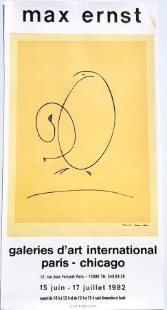 リトグラフ Ernst - International Art Gallery Paris- Chicago
