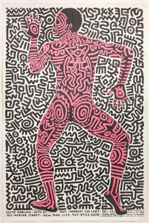 オフセット Haring - Into 84…Tony Shafrazi Gallery