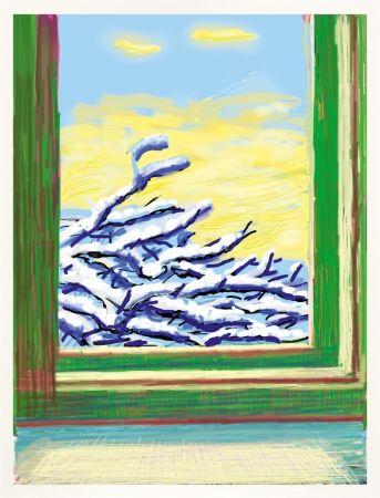 技術的なありません Hockney - IPad drawing `No 610`, 23rd December 2010