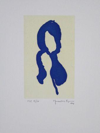 アクチアント Hernandez Pijuan - Iris Blau I / Blue Iris I