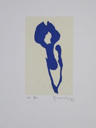 アクチアント Hernandez Pijuan - Iris Blau Ix / Blue Iris Ix