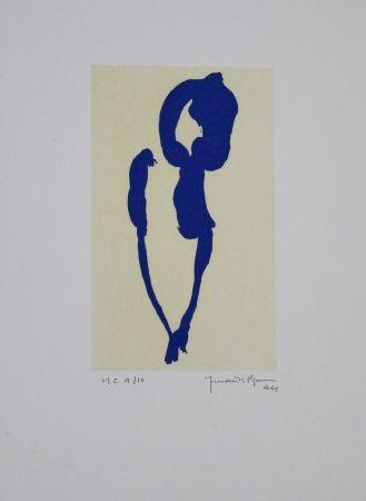 アクチアント Hernandez Pijuan - Iris Blau Vii / Blue Iris Vii