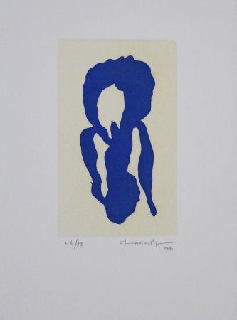 アクチアント Hernandez Pijuan - Iris Blau X / Blue Iris X