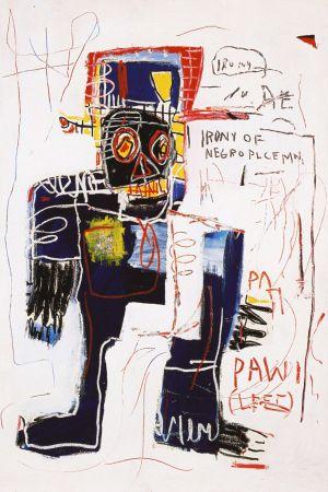技術的なありません Basquiat - Irony of negro policeman