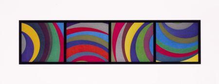 アクチアント Lewitt - Irregular Arcs From Four Side