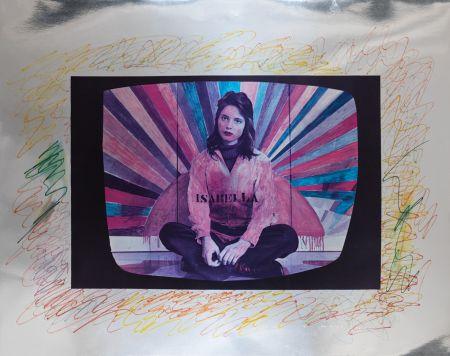 シルクスクリーン Angeli - Isabella Rossellini