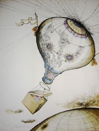 リトグラフ Searle - It's in the wind