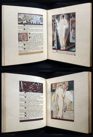 挿絵入り本 Schmied - J.-C. Mardrus : HISTOIRE CHARMANTE DE L'ADOLESCENTE SUCRE D'AMOUR (1927).