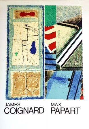 リトグラフ Coignard - J Coignard  Max Papart