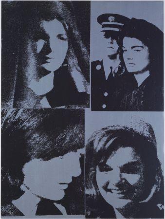 シルクスクリーン Warhol - Jacqueline Kennedy III, 1966