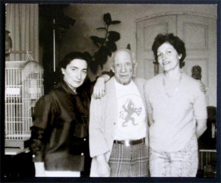 写真 Picasso - Jacqueline, Picasso et Gilberte Brassai (