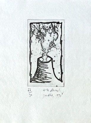 彫版 Alechinsky - Jadis